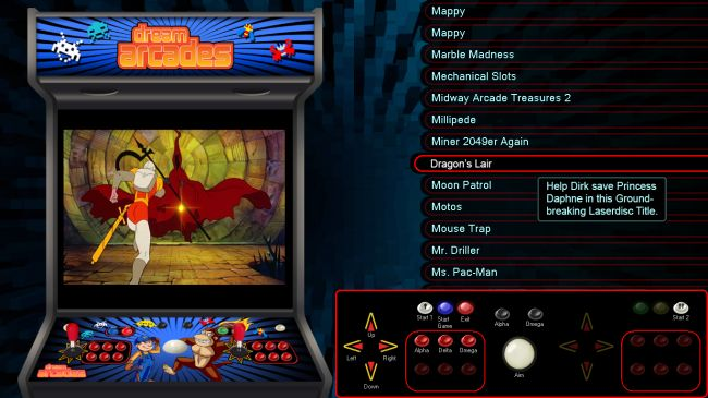 Dream Arcades® - Multi-Game Video Arcade Machines